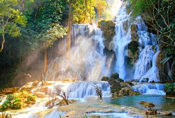 Kuang si waterfall in laos 2