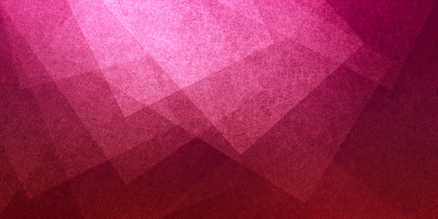 abstract pink background with layers of transparent shapes in random pattern cool modern background design