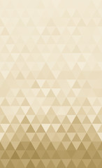 Abstract triangles horizontal continuous pattern background for