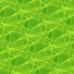 Abstract green background. Geometric green pattern. Digital art.