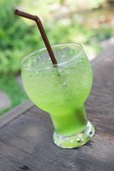 Kiwi italian soda.