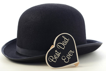 Fathers Day Bowler Hat