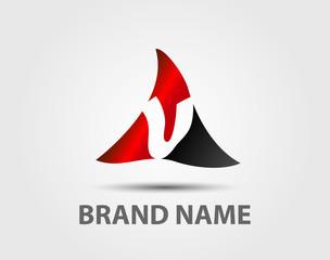 V company vector logo and symbol Design