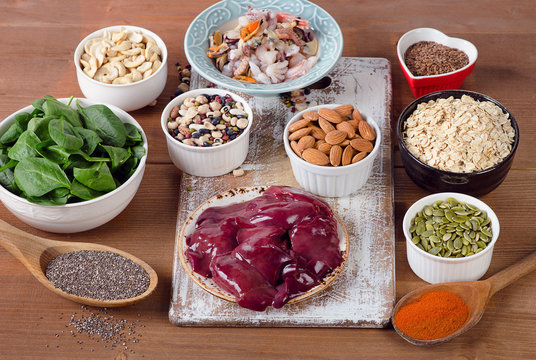 Manganese rich foods.