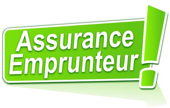 assurance emprunteur sur étiquette verte
