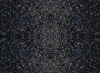 black background little lights pattern, fractal