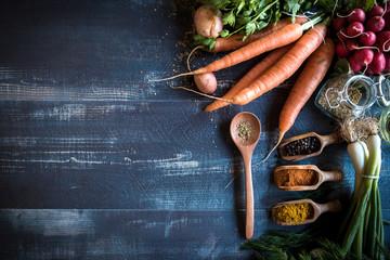Food recipes concept