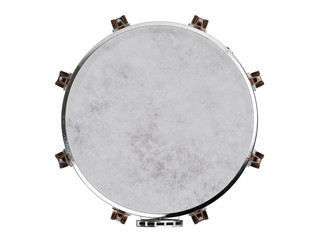 Timpani isolated on white 3D rendering