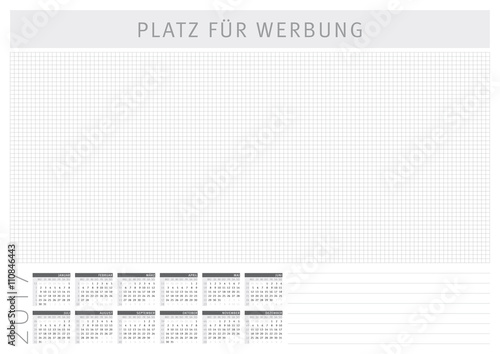 schreibtischunterlage mit kalender 2017 stockfotos und. Black Bedroom Furniture Sets. Home Design Ideas