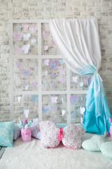 Spring pastel decor