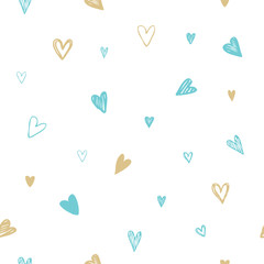 Hearts - Freehand drawings
