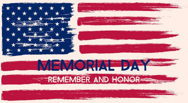 Memorial Day illustration.