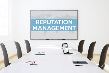 business office meeting reputation management