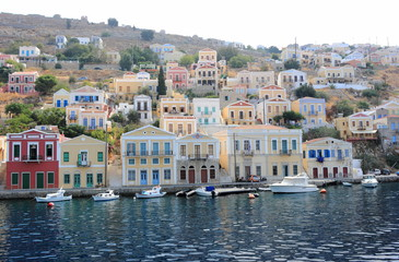 Wonderful Greece. SYMI ISLAND, Dodecanese.