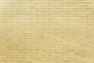 Yellow bricks wall pattern background