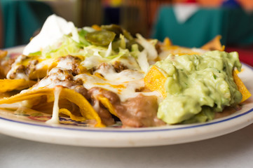 Mexican Loaded Nachos