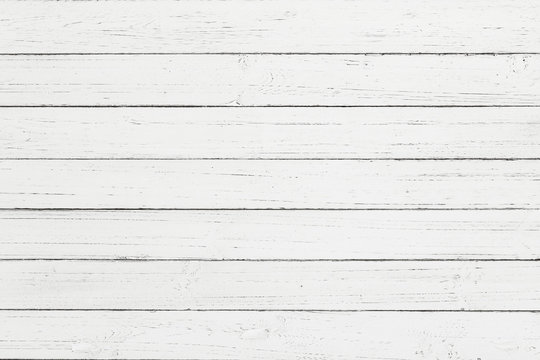 White rustic wood wall texture background, White pallet wood boa