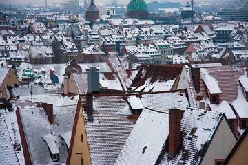 Nuremberg Nürnberg Skyline
