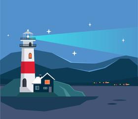 Light House Seascape