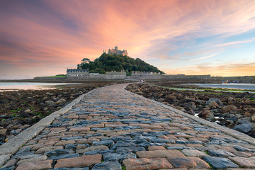 Wall Mural - St Michaels Mount in Cornwall