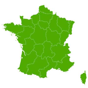 フランス 地図 国 アイコン