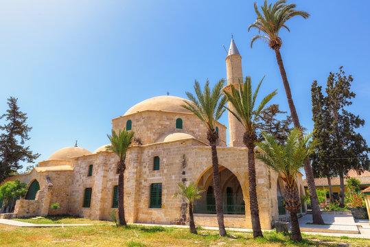 Hala Sultan Tekke or Mosque of Umm Haram is a Muslim on the west bank of Larnaca Salt Lake in Cyprus.