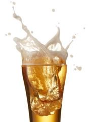 Fototapete - beer splash