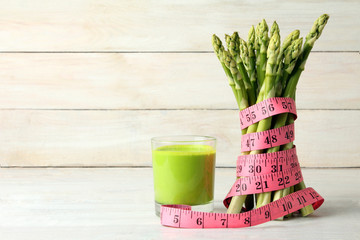 Food for weight loss. Diet concept