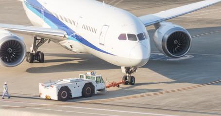 写真素材「旅客機」