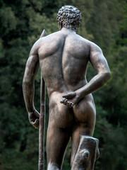 Statute eines Mannes