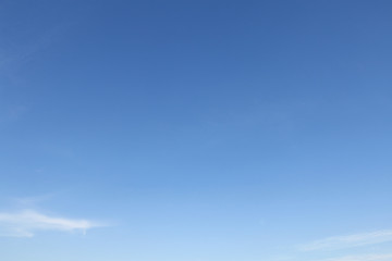 clear blue sky and cloud background