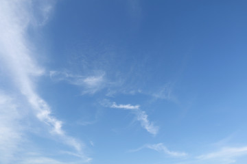 clear blue sky and cloud background #2