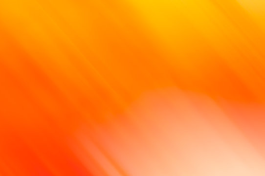 Abstract orange linear motion blur with yellow for backrounds