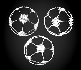 Fussball design skizzen