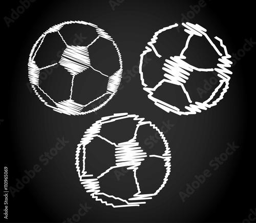 Fussball Design Skizzen Stockfotos Und Lizenzfreie Vektoren