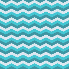 Marine zig zag seamless pattern