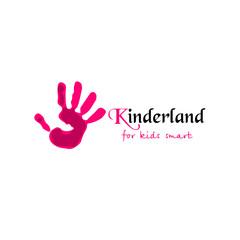Colorful Hand print. Kinderland