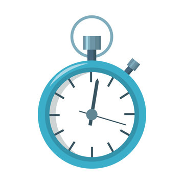 Stopwatch icon of vector illustration for web and mobile