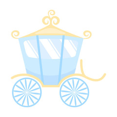 Carriage icon of vector illustration for web and mobile