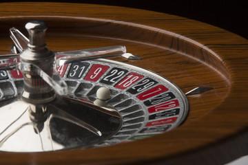 Dettaglio di roulette da gioco