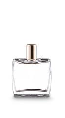 Glass bottle of perfume