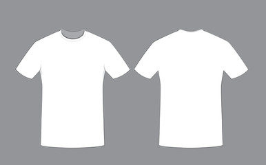 Search photos by pcanzo for White t shirt template front and back