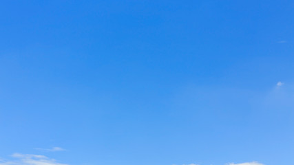 clear blue sky background