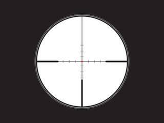 crosshair, reticle, vector eps10