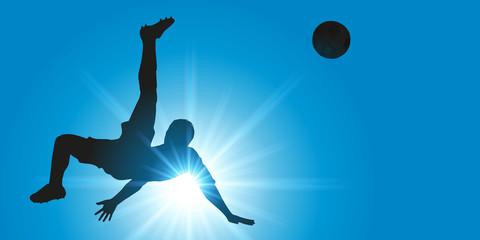 FOOTBALL - Tir - Retourné - Reprise de volée