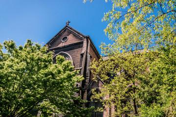 Eglise abandonnée Saint Bernard à la Croix-Rousse