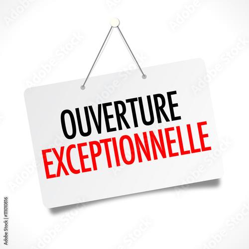 Ouverture exceptionnelle fichier vectoriel libre de droits sur la - Ouverture exceptionnelle castorama ...
