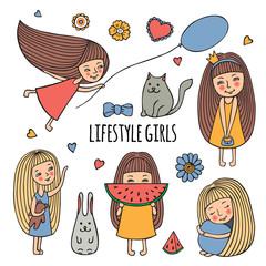 Lifestyle little girl