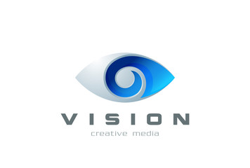 Eye Logo symbol search spy photography Vision Logotype lens icon