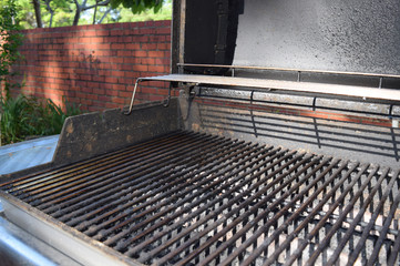 Metal Barbecue Grill